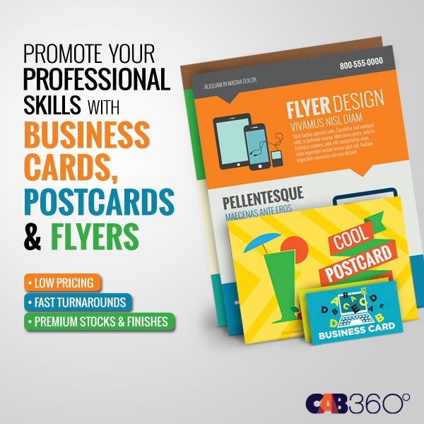 Business Cards, Postcards & Flyers