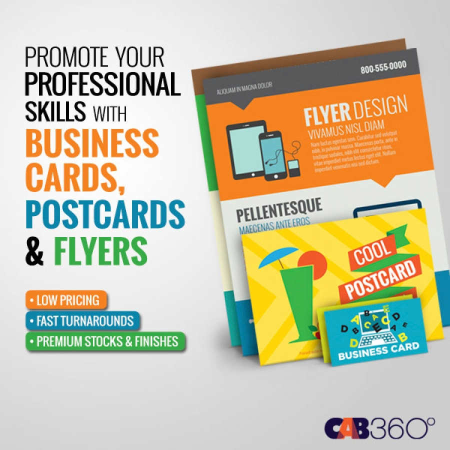 Business Cards Postcards Flyers